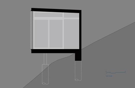 Black Box writing studio by ANX
