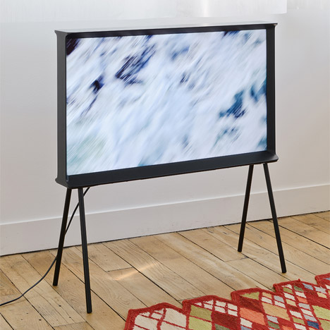 Bouroullec brothers' Serif TV for Samsung