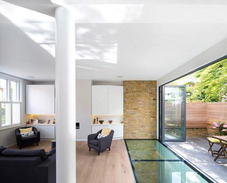 Brackenbury House by Neil Dusheiko Architects