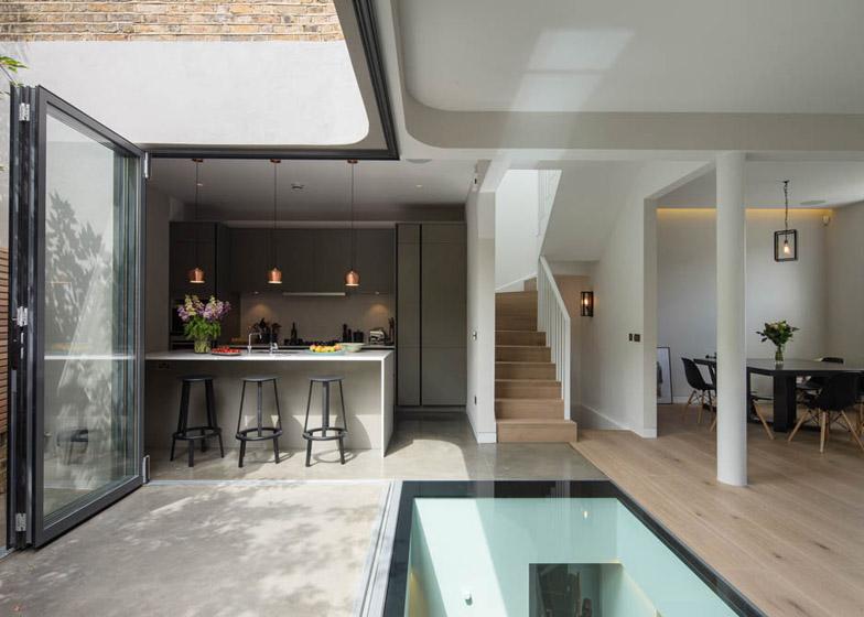 Brackenbury House by Neil Dusheiko Architects – London house extension