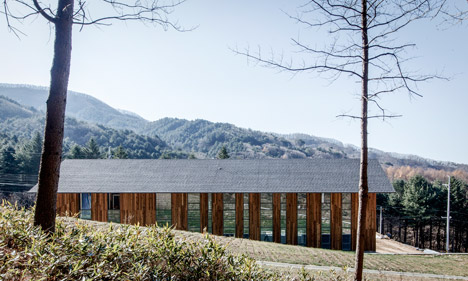 CeongTae Mountain's Visitor Information Center by Namu Architects