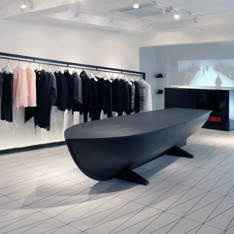 Hussein Chalayan's first shop opens in London's Mayfair