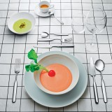 Inga Sempé designs Collo-alto cutlery set for Alessi
