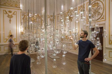 Curiosity Cloud installation by Mischer'Traxler for Perrier-Jouët