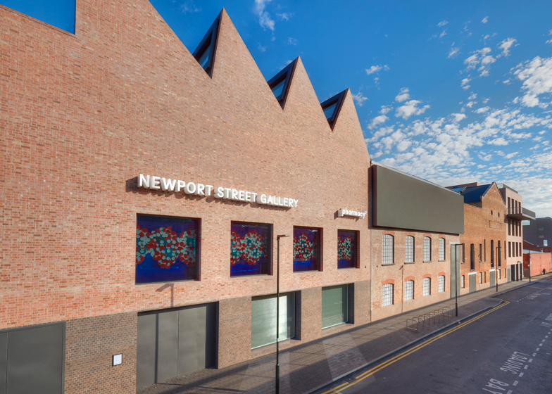Damien Hirst's Newport Street Gallery, London by Caruso St John