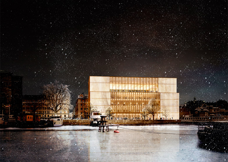 David Chipperfield revises Nobel Center design