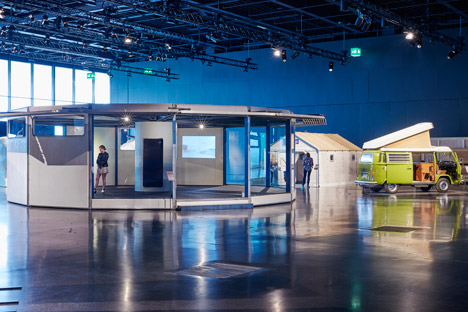 Jean Prouvé's Total Filling Station and Ikea's refugee shelter on show at Design at Large during Design Miami/Basel 2015
