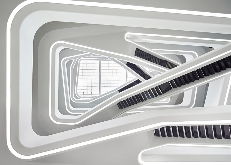 Dominion Office Building, Moscow by Zaha Hadid