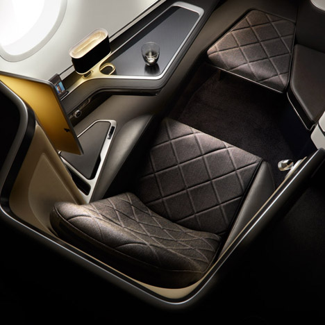 Forpeople designs first-class cabin interiors for British Airways' new Dreamliners