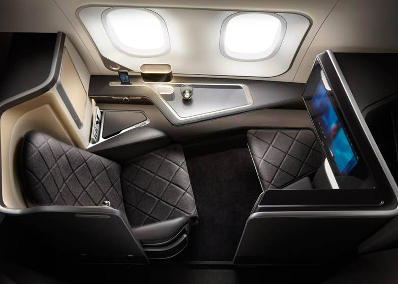 First-class cabin interiors for British Airways\' new Dreamliners