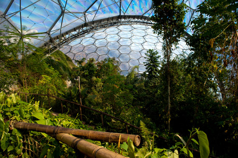 Eden Project di Grimshaw Architects