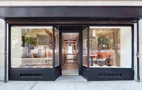 Feit's New York shoe store by Jordana Maisie
