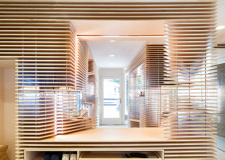 Feit's New York shoe store by Jordana Maisie
