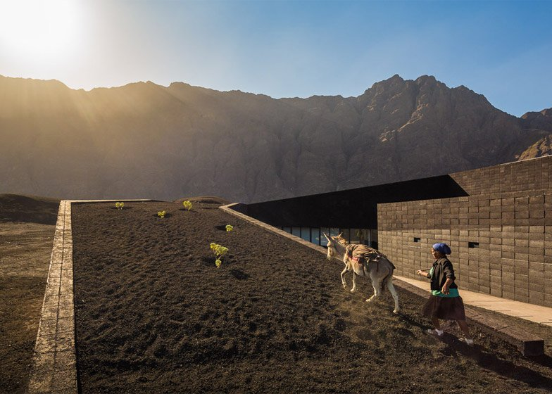 Fogo Island Natural Park, Cape Verde by OTO Architects