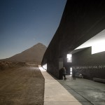 Award-winning building destroyed by volcano seven months after completion