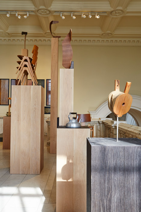 Robin Day Works in Wood exhibition at the V&ampA