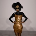 Gareth Pugh pays tribute to London's Soho with disco-themed fashion collection