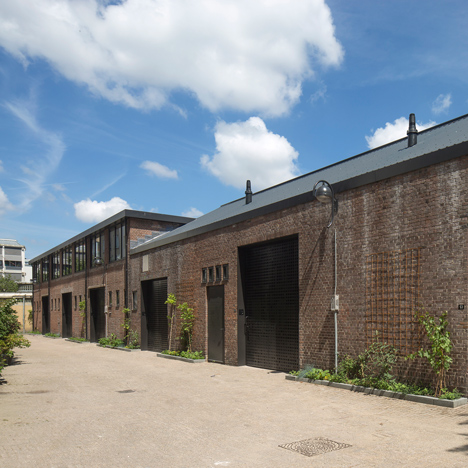 Ronald Janssen turns derelict Amsterdam factory into 12 back-to-back residences