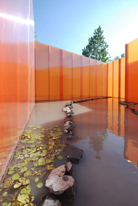 Get Wet installation by Groupe A / Annexe U