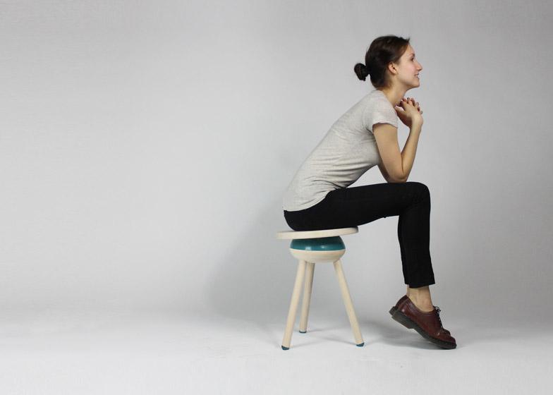 Oblio stool by Meg Czaja