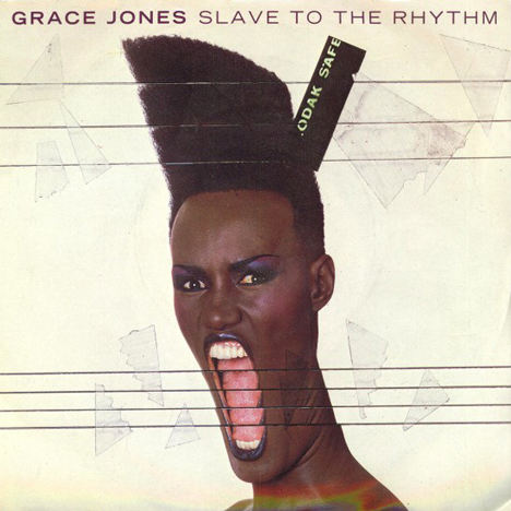 Album cover for Slave to the Rhythm by Grace Jones