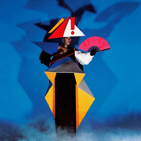 Grace Jones maternity dress by Jean-Paul Goude