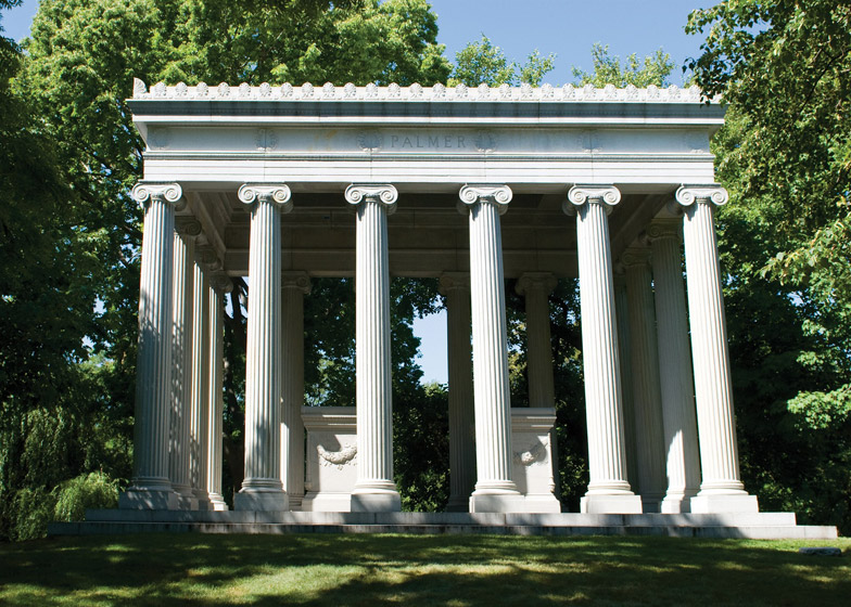 Graceland Cemetery William Saunders Le Baron Jenney