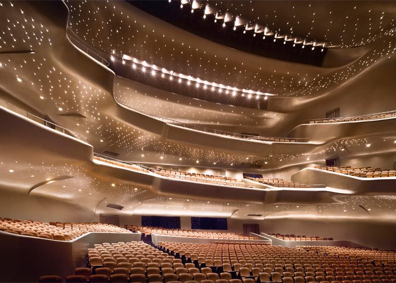 Guangzhou Opera House. Photograph by Virgile Simon