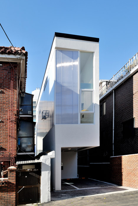 Groovy Guro Dong Mini House By Ain Group Is Just Three Metres Wide Largest Home Design Picture Inspirations Pitcheantrous