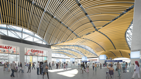 HS2 Euston expansion Grimshaw architects