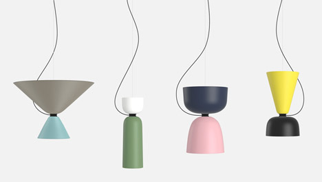 Hem - Alphabeta Lamp by Luca Nichetto