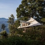 Hornbill House by Biome Environmental Solutions faces out over an Indian tea plantation