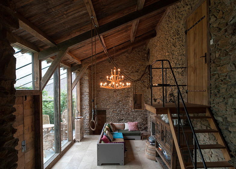 House in France by Piet Hein Eek