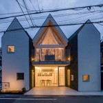 Shingle-clad home by Starpilots can be split up to make way for a road expansion