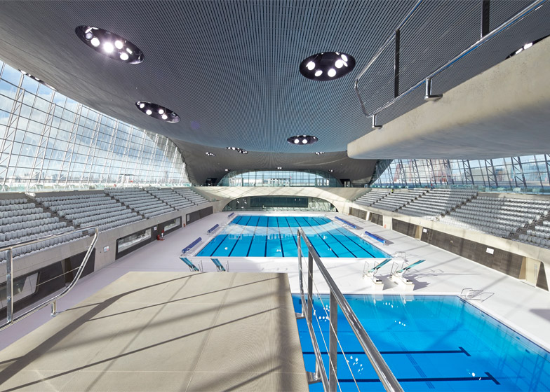 London Aquatics Centre. Photograph by Hufton + Crow
