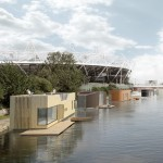 Baca Architects proposes prefabricated amphibious housing for London's canals