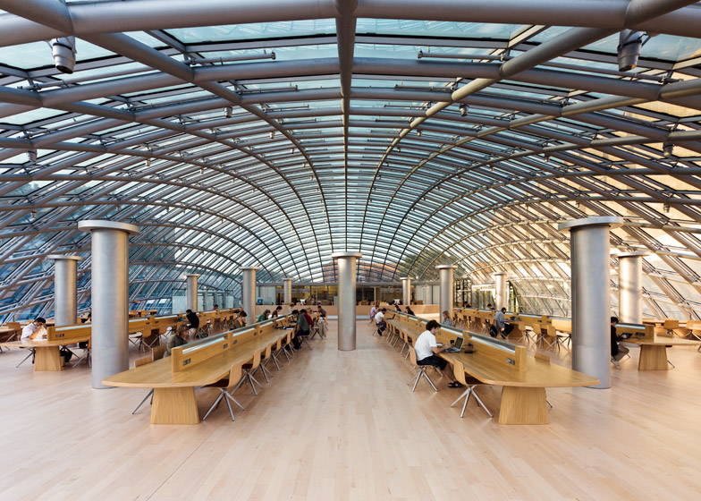 Joe and Rika Mansueto Library Helmut Jahn