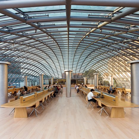 Joe and Rika Mansueto Library by Helmut Jahn