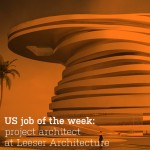 US job of the week: project architect at Leeser Architecture