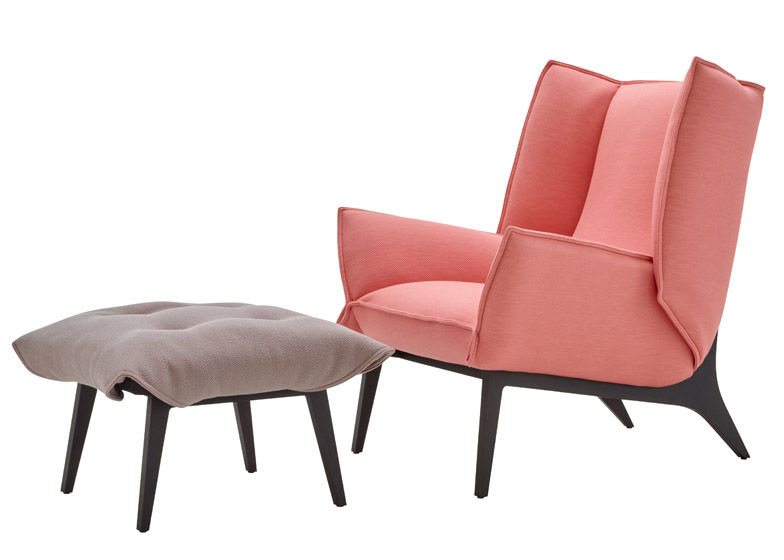 Ligne Roset chair by Remi Bouhaniche
