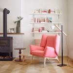 Rémi Bouhaniche creates origami-inspired armchair for Ligne Roset