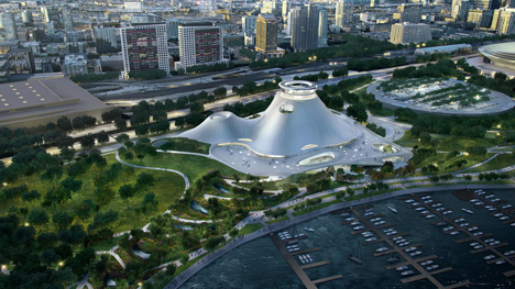 Mad Architects Lucas Museum of Narrative Art