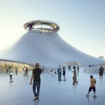 MAD Architects unveils slimmed-down design for Lucas Museum in Chicago