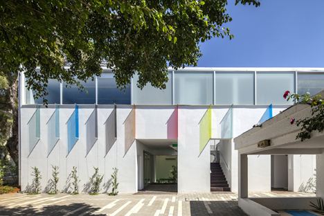Marc Chagall school by Paritzki & Liani Architects