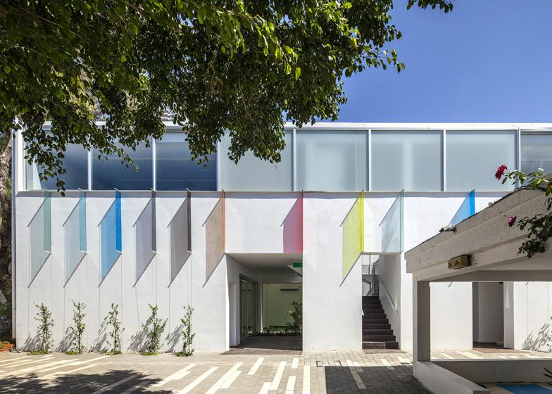 Marc Chagall school by Paritzki & Liani Architects