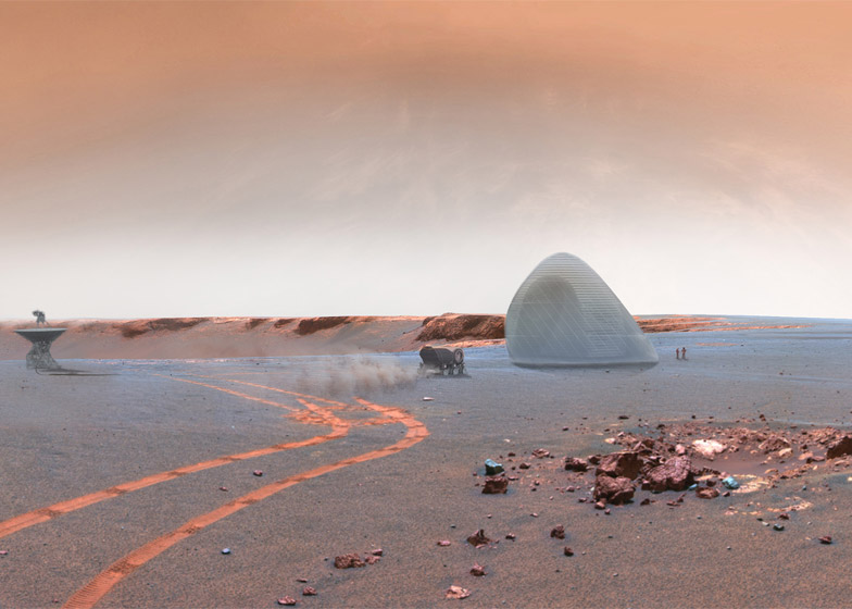 Mars Ice House by Clouds Architecture Office and SEArch