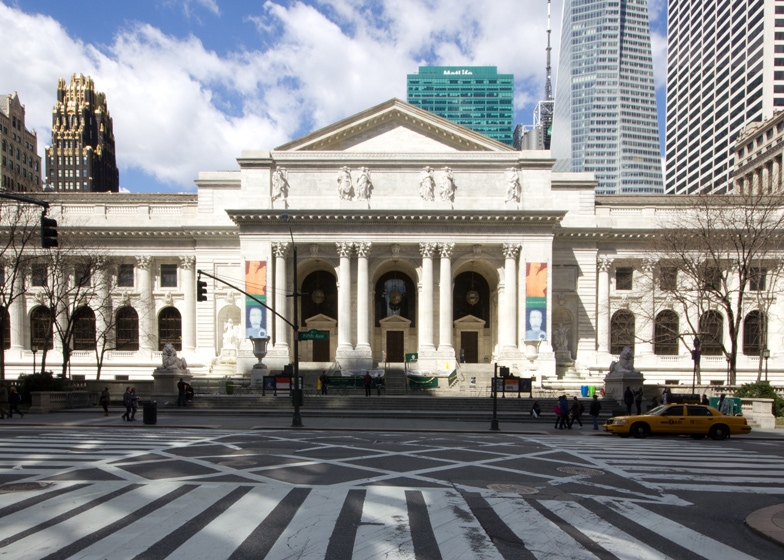 The New York Public Library's 42nd Street main building