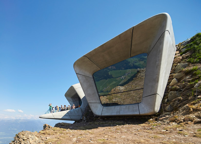 Messner Mountain Museum by Zaha Hadid photographer by Hufton+Crow
