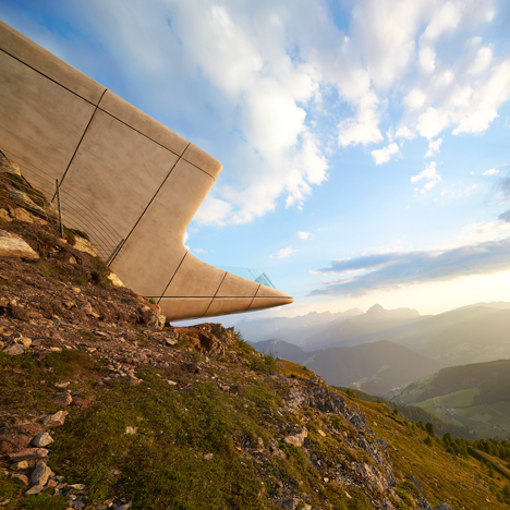 Zaha Hadid's Messner Mountain Museum photographed by Hufton + Crow