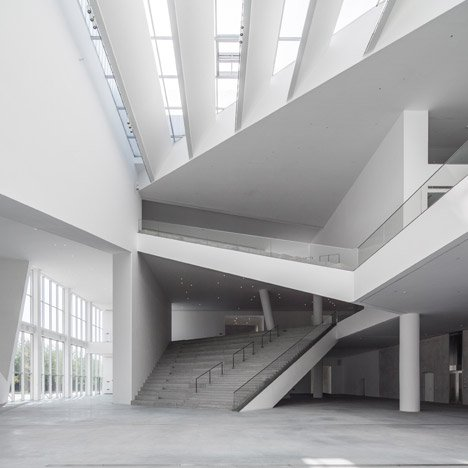 Studio Pei-Zhu converts a Beijing factory into Minsheng Contemporary Art Museum